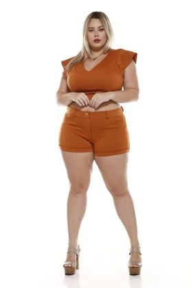 LNR1695_Shorts_Plus_Size_Neoprene_CARAMELO_1