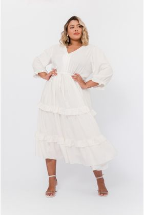 P087_5_Vestido_Plus_Size_Midi_Viscose_OFF_WHITE_1