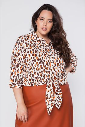 GRG44107_Camisa_Plus_Size_Animal_Print_Marrom_1