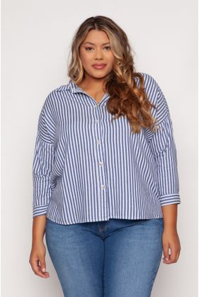 WW1802_Camisa_Plus_Size_Listrada_Messina_AZUL_1
