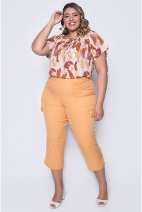 MLC4581_Calca_Plus_Size_Pantacourt_Lisa_MOSTARDA_1