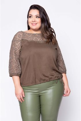 Blusa_Plus_Size_Renda_Francesa_Lisa_Verde_1