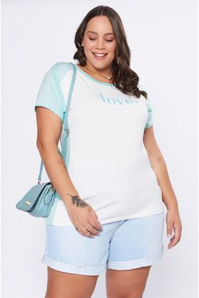ANS020_T_Shirt_Plus_Size_Love_VERDE_1