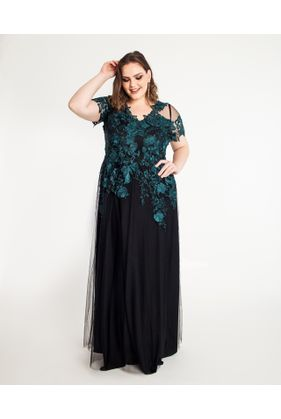 18133_Vestido_Plus_Size_L_Mc_Renda_VERDE_1
